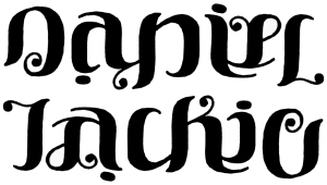 Daniel & Jackie Ambigram