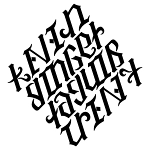 Diamond Ambigram